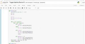 Algoritma, Flowchart dan Program Python Menentukan Bilangan Prima